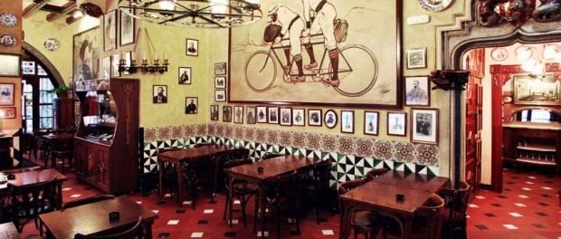 """Богемное кафе """"4 Кота"""" (""""el 4Gats"""", Carrer de Montsió, 3), (с) """"el 4Gats"""""""