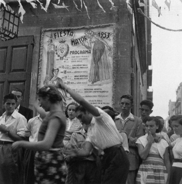 Фестиваль Грасии. Барселона, 1953