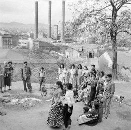 Праздник семьи La Chunga. Барселона, 1955
