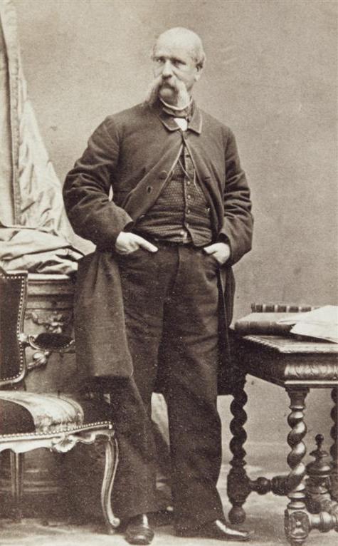 Ильдефонс Серда. Неизвестный фотограф. 1863-1875 ca. Источник: Fons Viladevall, Fundació Urbs i Territori Ildefons Cerdà (FUTIC).